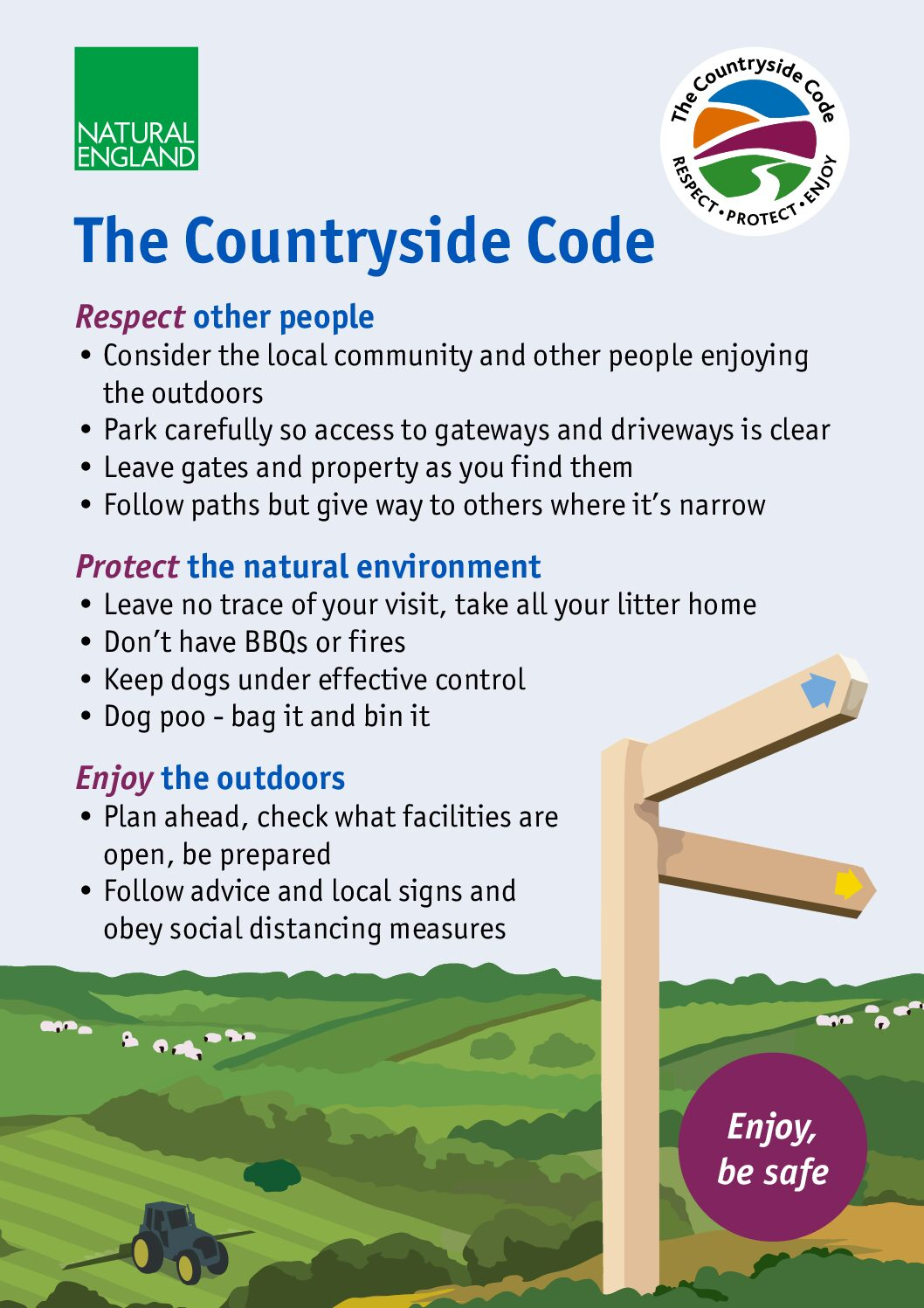 Follow the Countryside Code!